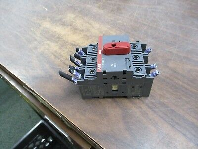 ABB Disconnect Switch OT100E3 100A 600V 3P Used for sale  Minneapolis