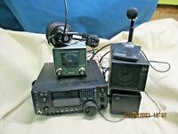 ICOM IC-746 HF VHF POWER SUPPLY BASE STATION SPEAKER SETUP (*2253SH)