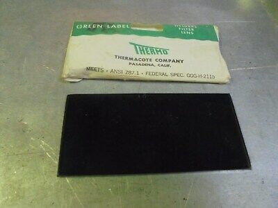 Vintage Thermo Green Label Welding Lens Weld T3