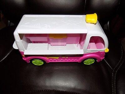Shopkins Bus Ice Cream Truck EUC
