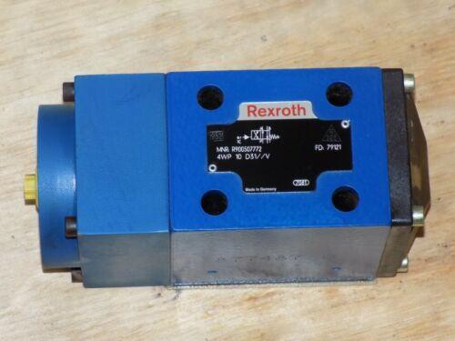 Rexroth R900507772 4WP 10 DIRECTIONAL CONTROL VALVE