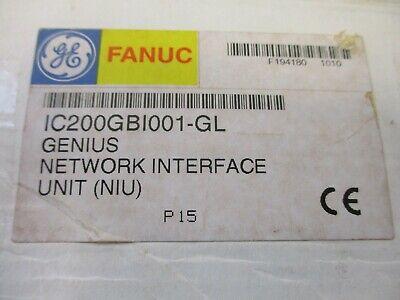 Ge Fanuc Versamax Genius New Ic200gbi001-gl Networking Interface Unit Niu