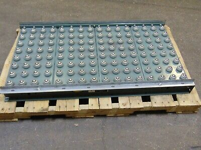 Hytrol Gravity Roller Ball Conveyor Section
