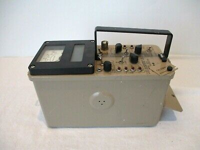Ludlum Model 2221 Digital Scaler Ratemeter Parts Or Repair Please Read