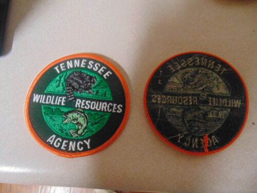 PATCH SEW ON OLDER TENNESSEE WILDLIFE RESOURCES AGENCY