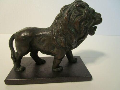 Art Deco Bronze LION