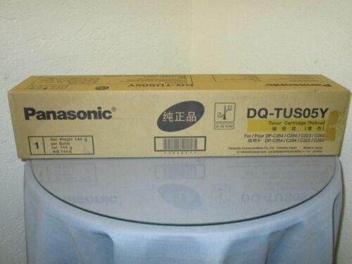 Genuine Panasonic DQ-TUS05Y Yellow Toner Cartridge New in Box!