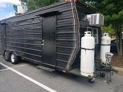 Used 2016 - 24 Mobile Kitchen Food Concession Trailer For Sale In North Carolin