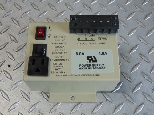 AIR PRODUCTS T-PB-202-0 POWER SUPPLY