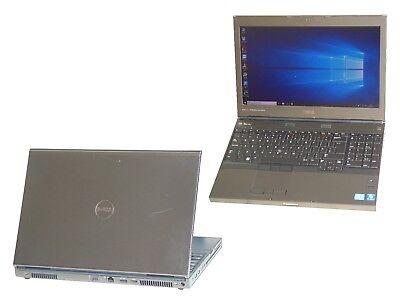 Dell Precision M4600 Core i7-2620QM Quad Core 16GB 750GB Windows 10 Laptop