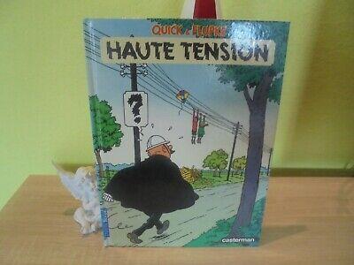 EO Quick et Flupke nouvelle série n° 1 Haute tension de 1985