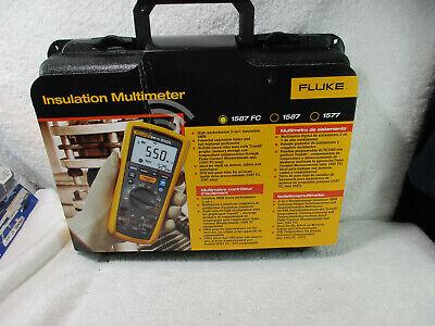 Fluke 1587 Fc Digital Insulation Multimeter Tester Voltages 1000v Brand New