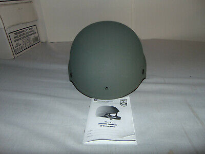 UNUSED US MILITARY ISSUE ACH ADVANCED COMBAT HELMET BAE SYSTEMS EXTRA LARGE
