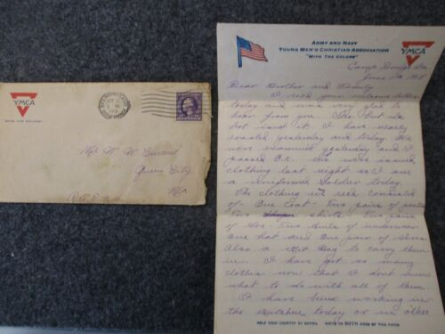 WWI Letter Sent by PVT Oscar Current to his Family in Queen City, Missouri #8