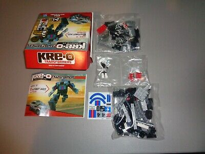 KREO 31146 Transformers Autobot Jazz 122 Pieces Free Shipping.