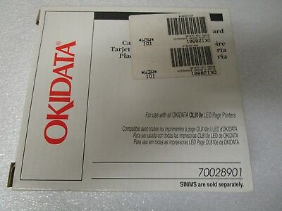 Okidata Memory Expansion Board for an OL810e LED Page Printers 70028901 - New