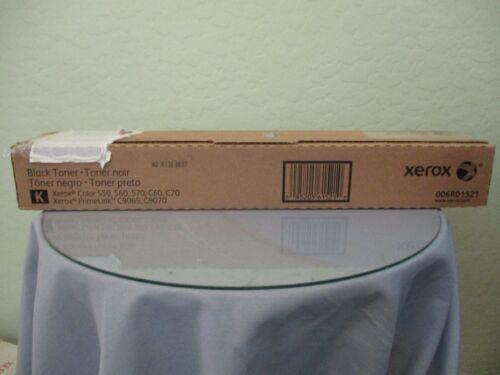 Genuine Xerox Color 550, 560, 570, C60, C70 Black Toner New! 006R01521