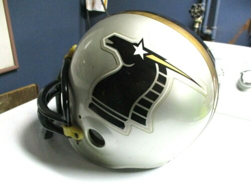 WLAF New York/New Jersey Knights Vintage Riddell Football Helmet Size Large