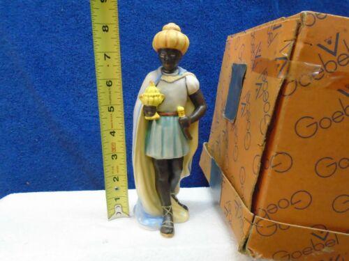 "Hummel - nativity Standing Moorish King #214/L with box, 8"""