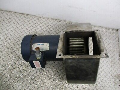 Leeson Squirrel Cage Blower C6t34fc28d - 3hp - 208-230460v - 3450 Rpm