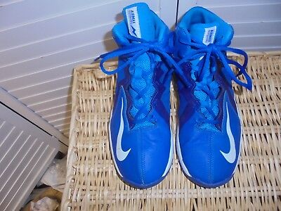 NIKE  Airmax Stutter Step 2 Blue High Tops  7 Youth