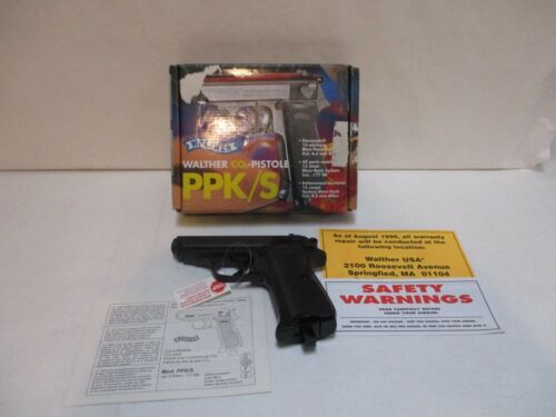 Vintage Walther PPK/S .177 Cal Air Pistol - UNUSED/UNFIRED