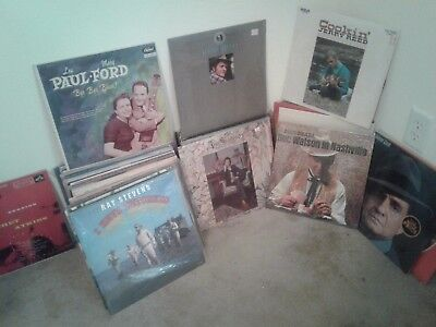 Lot Sale Classic Country Music USED  records 75 pieces  (Music Record Sales)