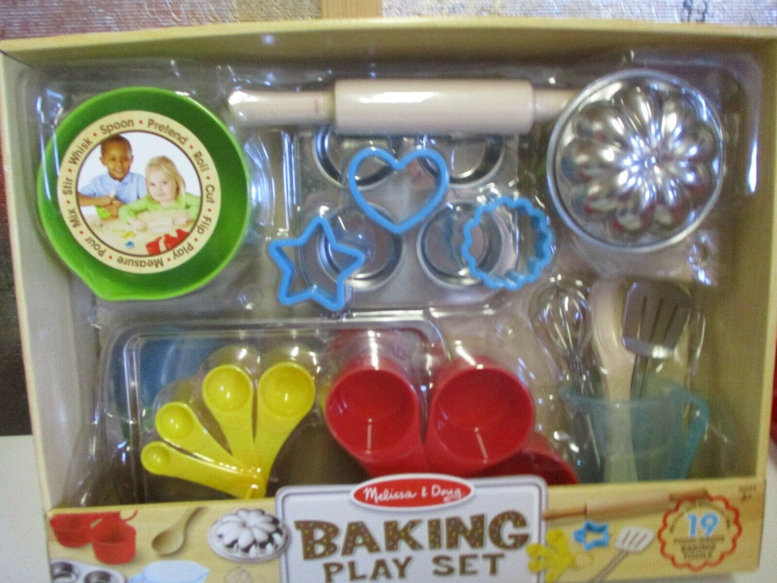 melissa and doug baking play set new