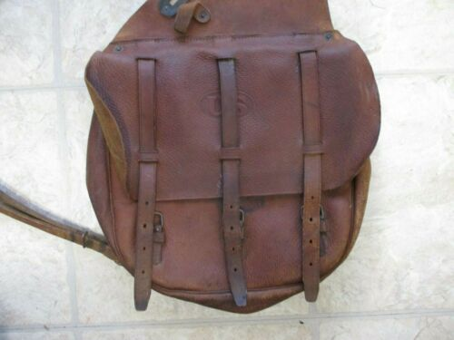 United States Army Model 1904 Brown Leather Saddle Bags