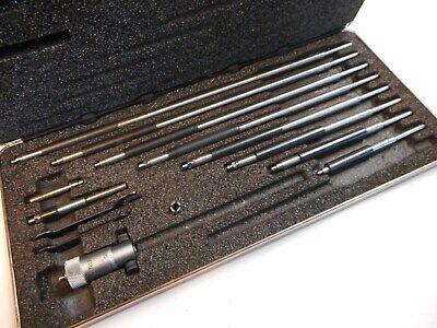 Starrett 124bz 2 - 12 Inside Micrometer