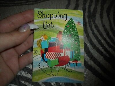 Vintage Christmas Shopping List The Industrial Bank of Binghamton