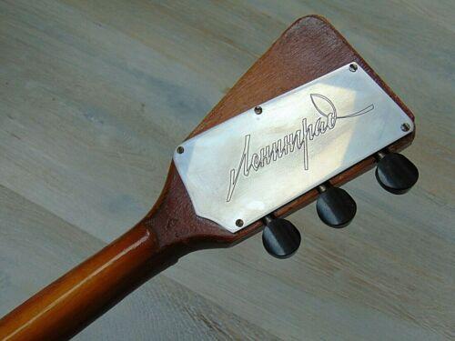 Balalaika Secunda 3 string vintage Soviet Russian folk instrument Lunacharskogo
