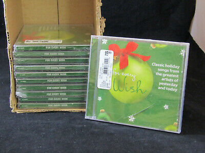 NEW LOT OF 10 CD'S CLASSIC HOLIDAY SONGS (CHRISTMAS/HOLIDAY) SINATRA/CASH/ELVIS  ()