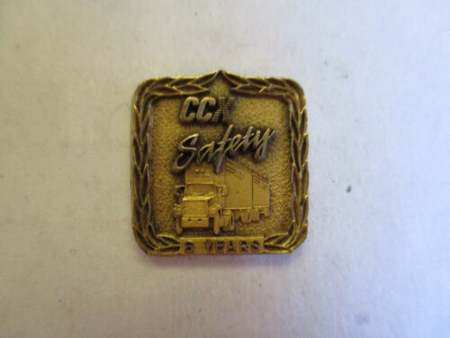 CCX Inc 6yr Trucking Truck Driver Employee Safety Award Pin