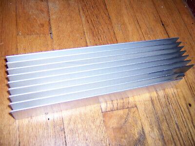 Large Long Flat-bottom Aluminum Heatsink 11.25 X 3 X 1.5 28.5 X 8 X 3.6cm