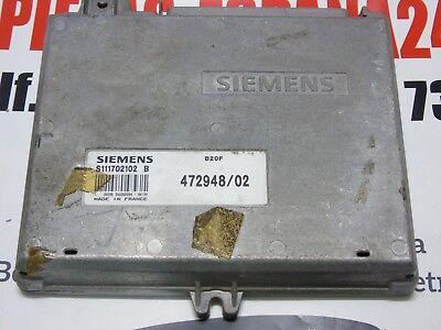 ECU Centralina Volvo 480 S S111702102B 472948/02 S111702102 B SIEMENS