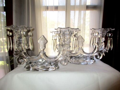 Cambridge #1356 Caprice Pair of 2-Lite Candelabras