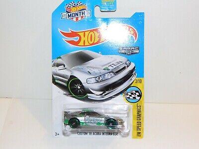 2017 Hot Wheels Walmart exclusive  Zamac  #005 -  Custom '01 Acura Integra GSR