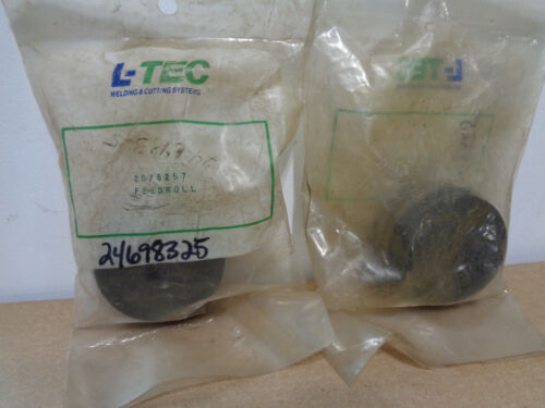 Lot of 2  L-TEC Linde P/N 2075257 mig welder feed rolls sealed bags Free shippin