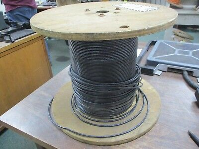 Misc. Brand 10 Awg Wire Thhn-thwn-2 Black Approx. Length 571ft New Surplus