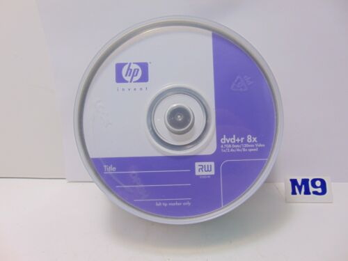 HP DVD-R Spindle 25 Pack 8X / 4.7GB / 120 Min  ,Brand New SEALED