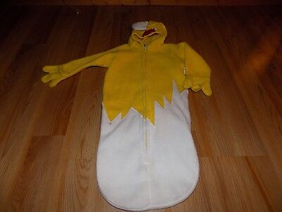 Newborn Size 3-6 Months Old Navy Rooster Chicken Halloween Costume Bunting - 3 Month Old Halloween Costumes