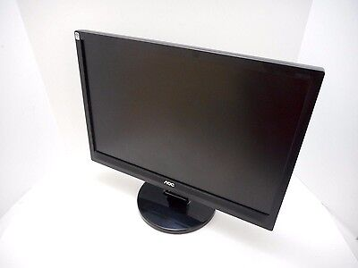 "AOC 919Vwa 19"" Widescreen Black LCD Monitor with Speakers Hot Deal!"