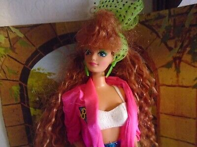 Barbie and the Rockers Red Hair Barbie EUC!!