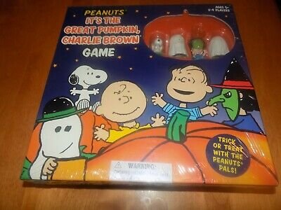 IT'S THE GREAT PUMPKIN Charlie Brown Peanuts Halloween Snoopy BOARD GAME NEW - Simpsons Halloween Great Pumpkin