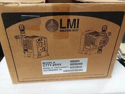 C771-25hv Series C7 Lmi Milton Roy Electronic Metering Pump - 60 Day Warranty