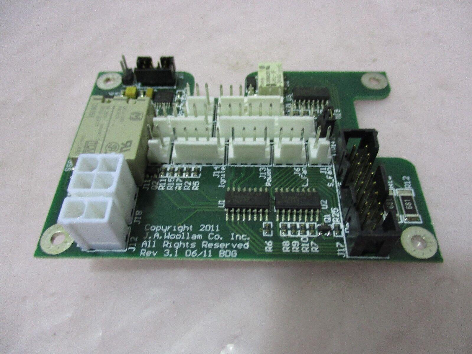 J.A. Woollam SSB-600-06.03 PCB Board, 420447