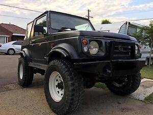 1998 Suzuki sierra Gti motor  lifted muddies rego Bexley Rockdale Area Preview