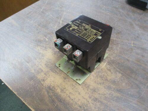 Arrow Hart Model D Contactor ACC730U30 208-240V Coil 75A 600V Used