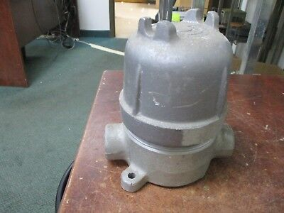 Crouse-hinds Explosion Proof Sunction Box 12 Gujc 16 Used